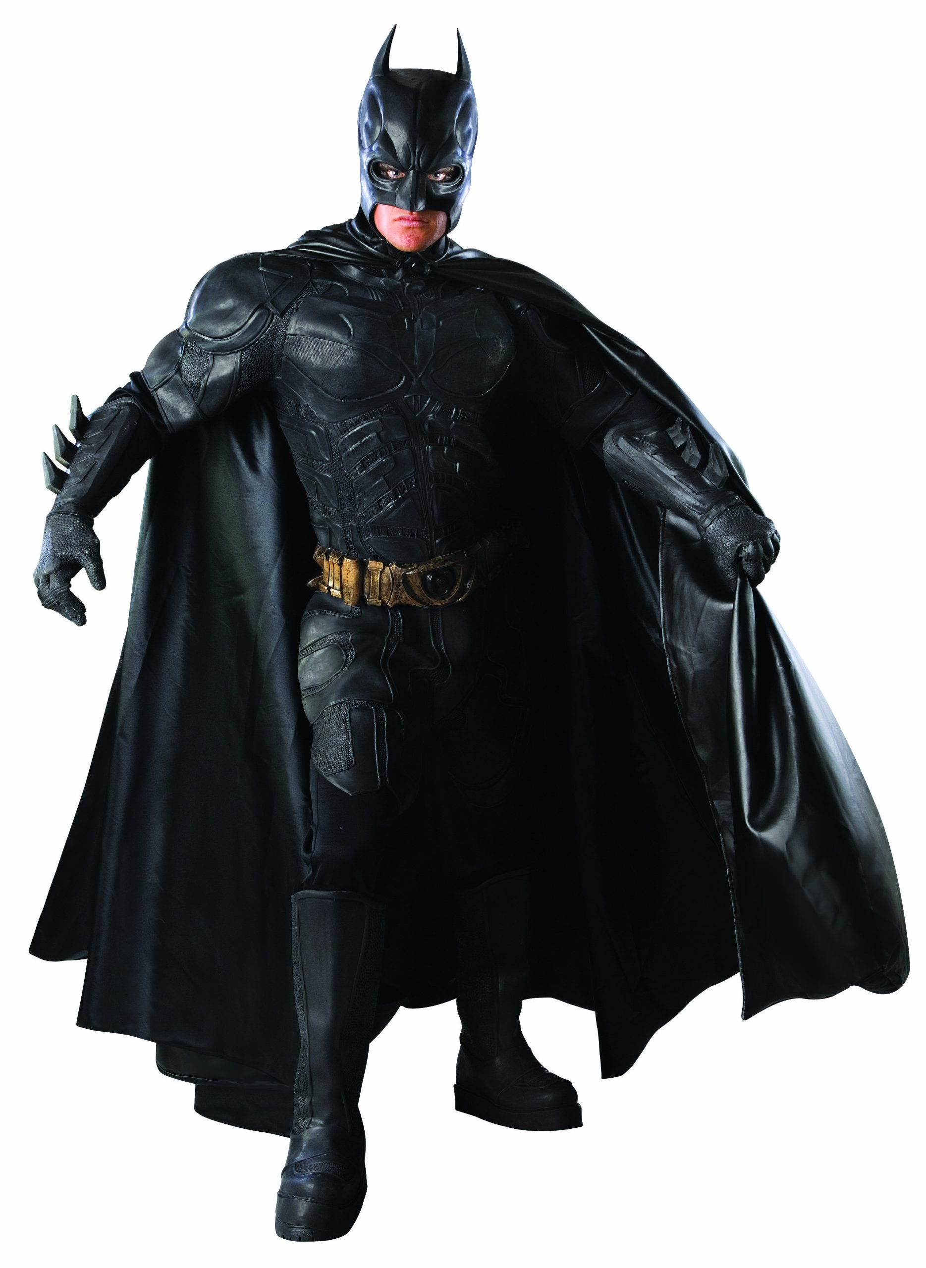 Batman: The Dark Knight Deluxe Grand Heritage Collection Costume, Black, Medium by Rubie's