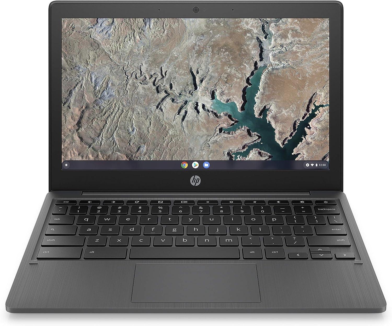 HP Chromebook 11-inch Laptop, Touchscreen, MediaTek MT8183, MediaTek Integrated Graphics, 4 GB RAM, 32 GB eMMC Storage, Chrome (11a-na0040nr, Ash Gray)