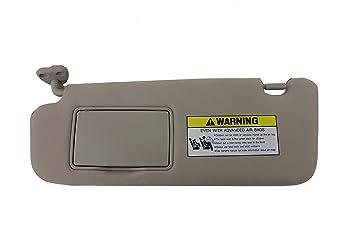Genuine Hyundai 85201 0a750 Qdqqh Sun Visor Assembly Beige Left