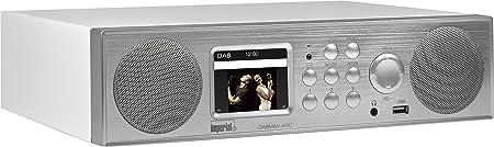 Imperial 22 246 00 Dabman I450 Internet Dab Radio 2 1 Sound Bluetooth Internet Dab Dab Ukw Wlan Lan Usb Aux In Line Out Inkl Netzteil Silber Weiß Heimkino Tv Video