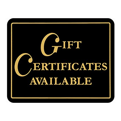 amazon com gift certificates available retail store business