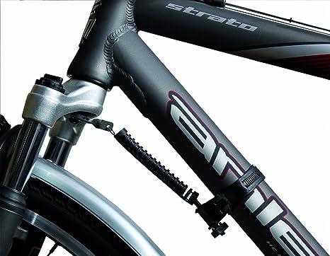 M Wave - Amortiguador de dirección para Bicicleta, Color Negro ...