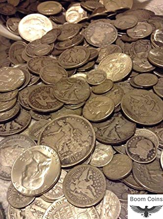 1//2 Ounce USA Coins Lot of Dimes 90/% Silver Quarters and Half Dollars