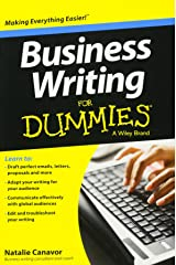 Business Writing For Dummies Paperback