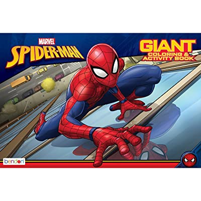 Marvel Bendon Spider-Man Activity Book: Toys & Games