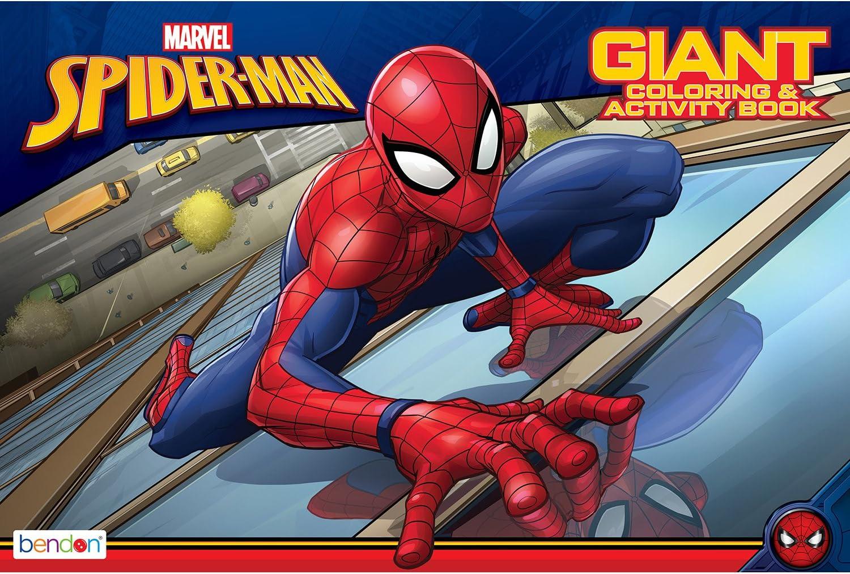 Marvel Bendon Spider-Man Activity Book