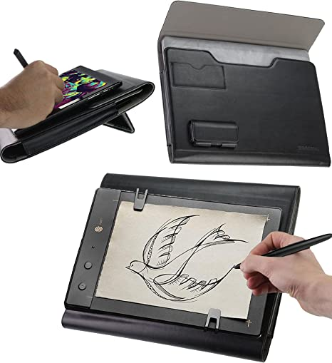 Navitech Grey Graphics Tablet Case//Bag Compatible with The XP-Pen Star 06 Pen Graphics Tablet
