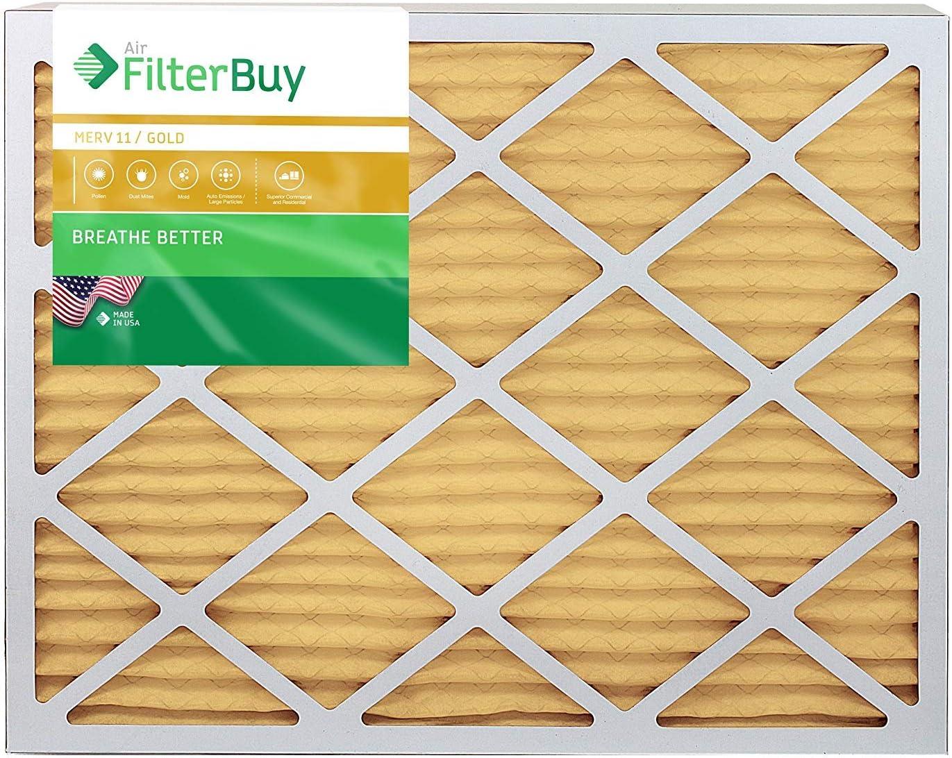 plissée CVC AC four Filtre à air AFB Gold Merv 11 Filterbuy 10x10x2