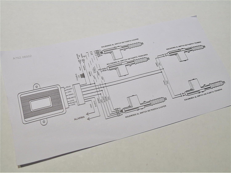 360 Degree - Central Power Door Lock Conversion Universal Locking System Kit 2 or 4 Door