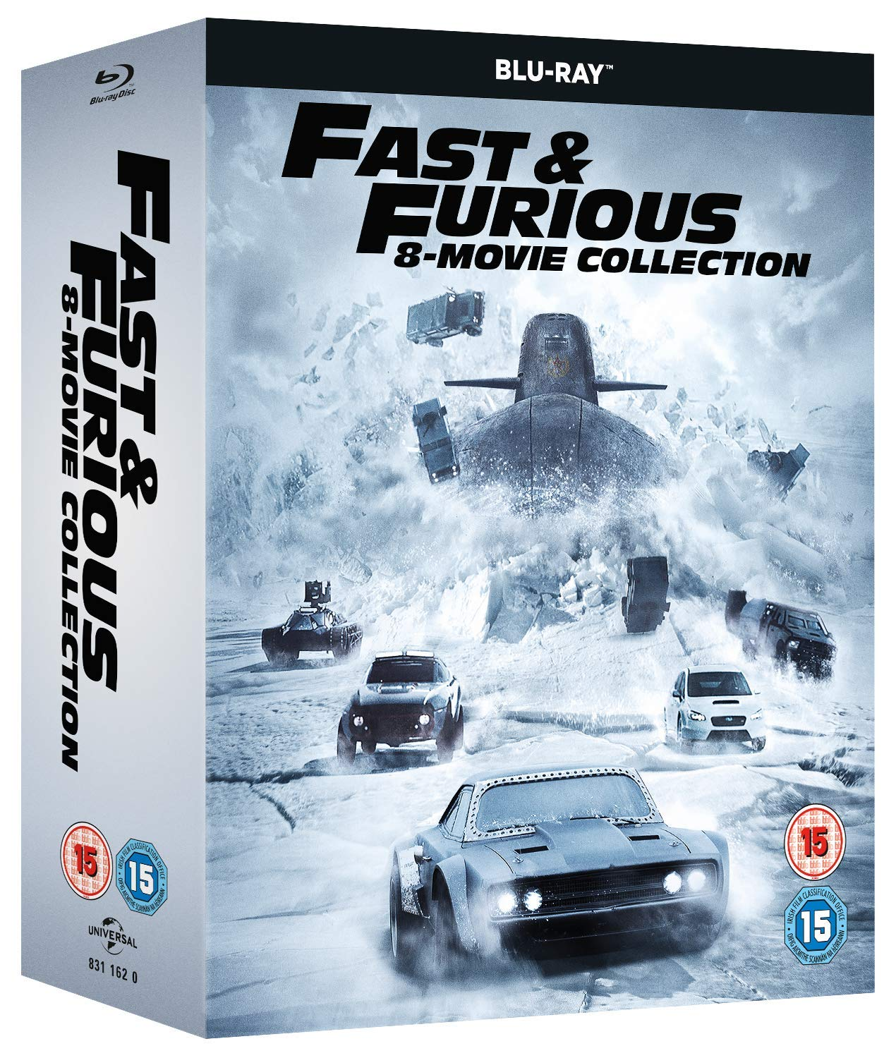 Amazon.in: Buy Fast & Furious: The Complete 8 Movies Collection ...
