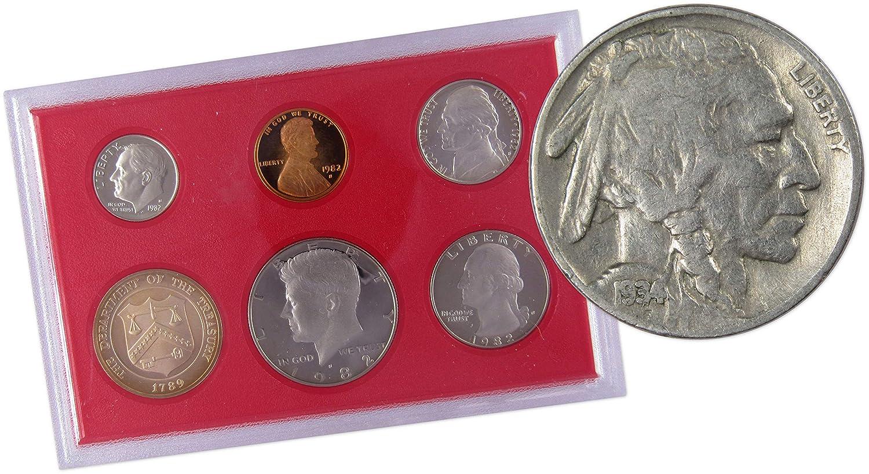 1982 S Jefferson Nickel Mint Proof from Original U.S Proof Set