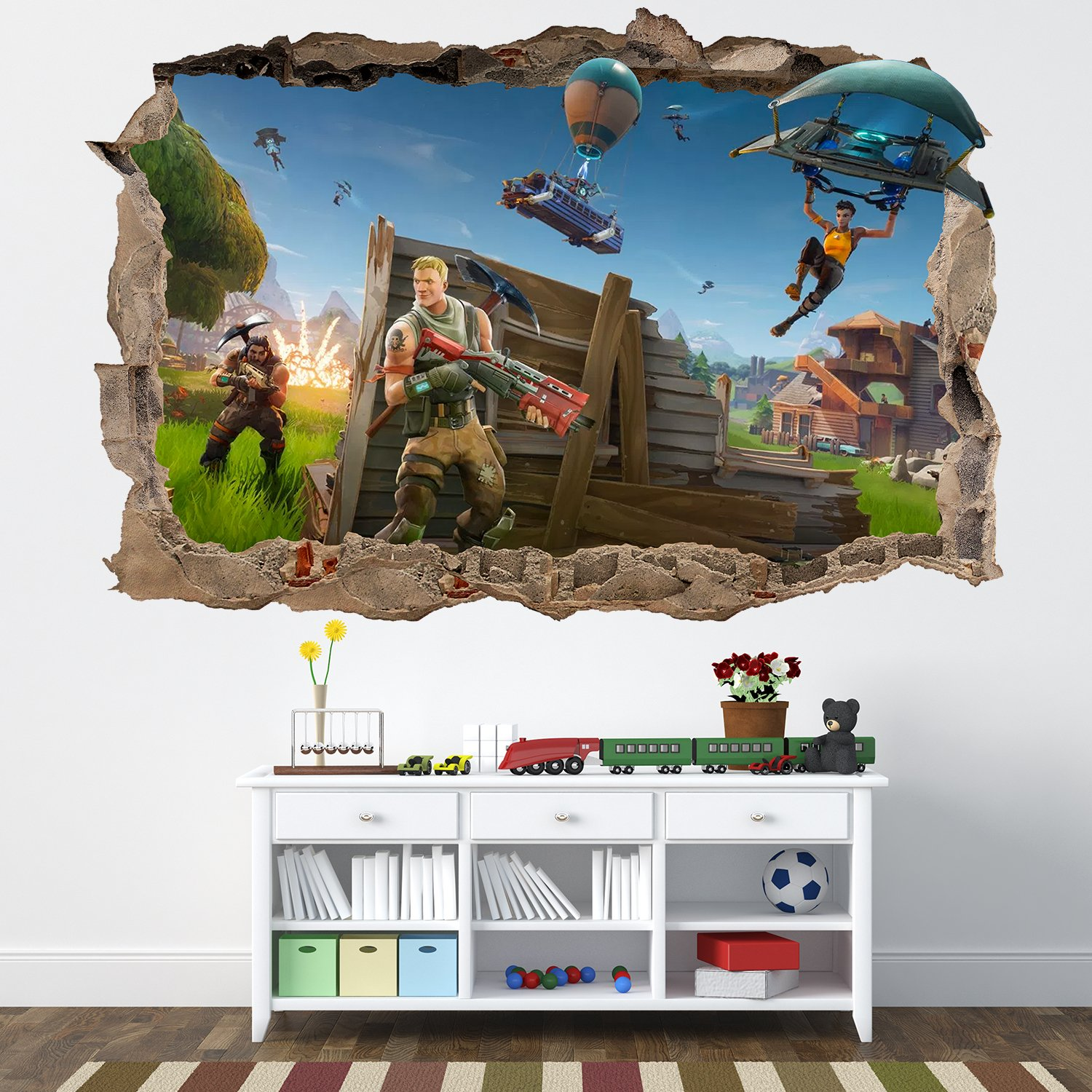 Vinilo Decorativo de Pared de Fornite para Pared, extraíble ...