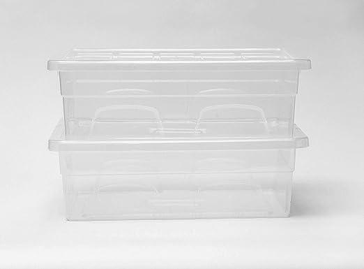 Home Storage King - Cajas de almacenamiento de plástico de 32L ...