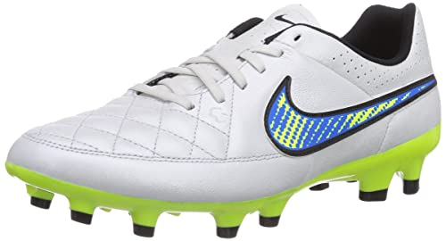 reputable site c8f04 18a55 Nike Tiempo Genio Leather Mens Soccer Cleats (6.5)