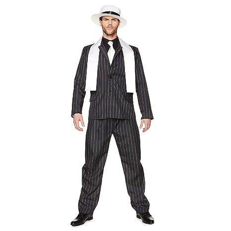 Costume Da Mafioso Per Uomo Costumi Adulti E Vestiti Di Carnevale 05e18f88e7d