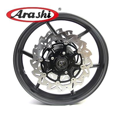 Amazon.com: Arashi Front Wheel Rim Brake Rotors for Kawasaki ...
