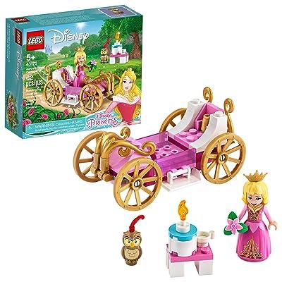LEGO Disney Aurora's Royal Carriage 43173 Creative Princess Building Kit, New 2020 (62 Pieces): Toys & Games
