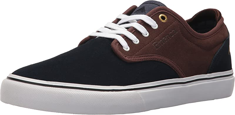 Emerica Wino G6 Sneakers Skateboardschuhe Herren Marineblau/Braun (Navy/Brown)