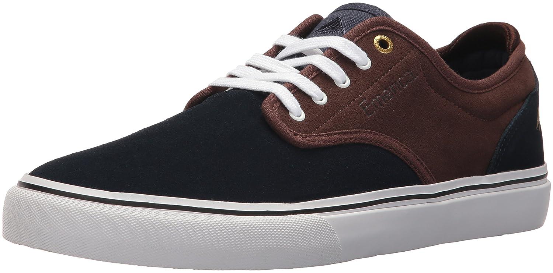 Emerica Men's Wino G6 Skate Shoe 5 D(M) US|Navy/Brown/White