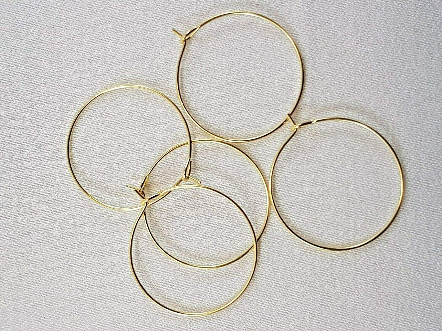 29x25mm Gold Plated Wine Glass Charms Rings//Earrings Hoops Findings Wedding Table. 25, 29x25mm