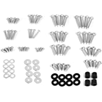 VIVO M4 M5 M6 M8 Universal TV and Monitor Mounting Vesa Hardware Kit Set, Includes Screws, Washers, Spacers, Assortment…