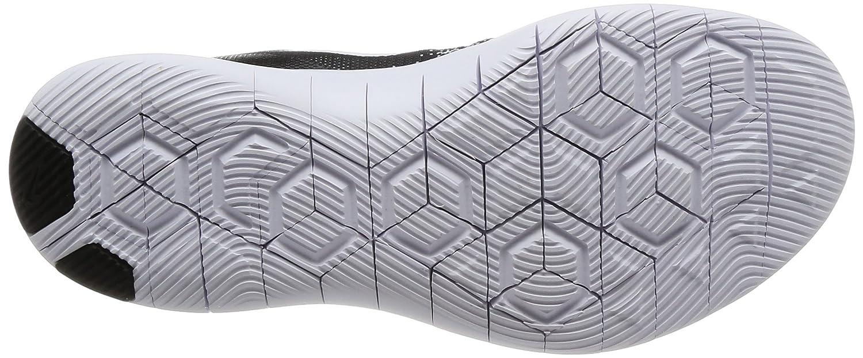 NIKE Women's Flex Contact Running Shoe B073F3W2GH 9 B(M) US|Black/White