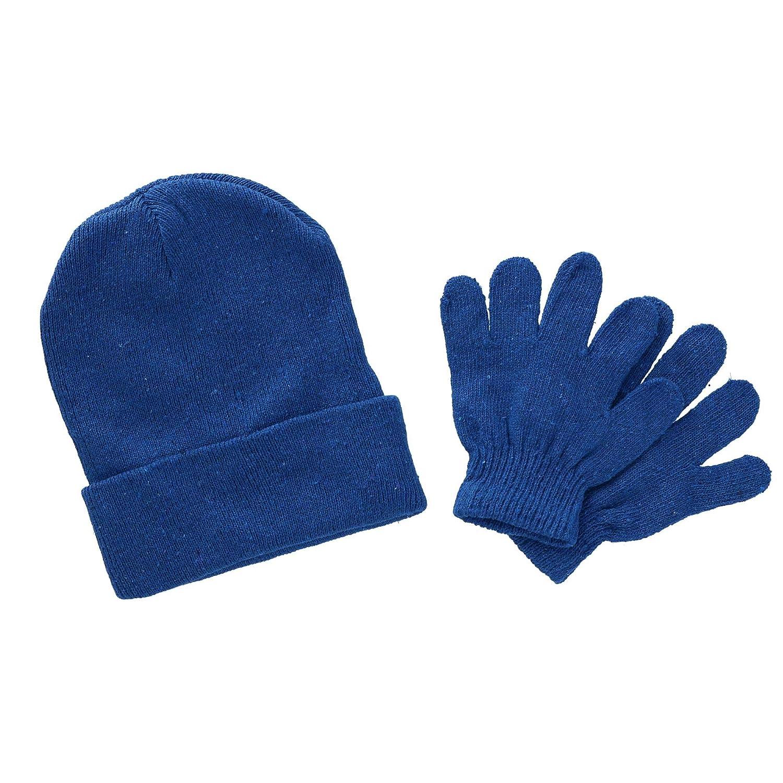 Polar Extreme Kids' Basic Hat and Glove Set, Black