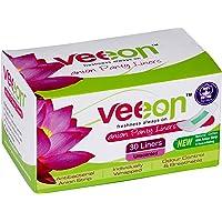 Veeon Cotton Anion Pantyliner - 30 Count