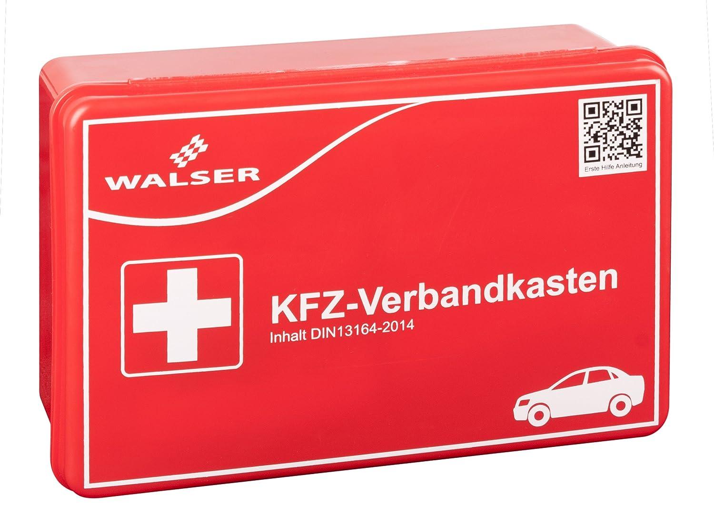 Walser 44263 KFZ Verbandskasten, Rot Walser GmbH