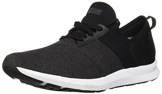 Amazon.com | New Balance Womens Nergize V1 FuelCore Sneaker, BLACK, 9.5 D US | Fitness & Cross-Training