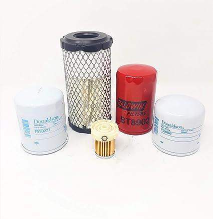 Amazon.com: Kubota B26 B7500 B7510 B7610 B2410 D HST Filter ...