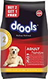 Drools Chicken and Egg Adult Dog Food, 400g(Special Offer_BUY 2 - GET 1  FREE)