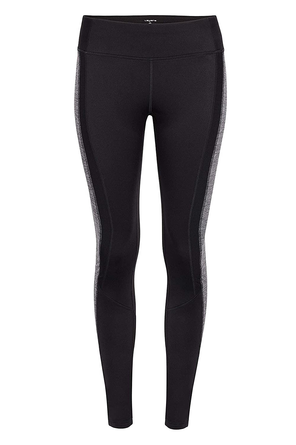93b7ca84ba Amazon.com: Layer 8 Women's Athletic Performance Workout Running and Yoga  Legging Pants with High Waist Tummy Control: Clothing