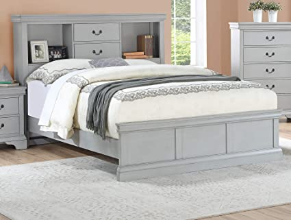 Amazon Com Esofastore Classic Modern Bedroom Furniture Full Size
