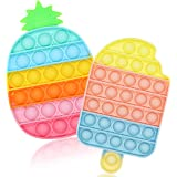 SUYPAS Push Pop Fidget Toys, Push Pop Bubble Fidget Sensory Toy for Kids and Adults,Fidget Pack with Pop Sensory Anti-Anxiety