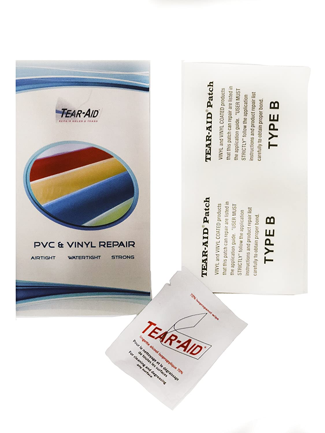 Genuine Repair Patch Type A for General Fabric Repairs Tear-Aid