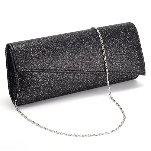 Image Unavailable. Image not available for. Color  Womens Glitter Shimmer  Bling Classy Handbag Evening Party Grab Clutch Bag Purse 6510bb257ca41