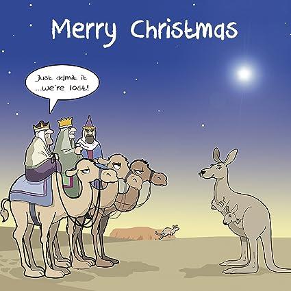Felicitaciones De Navidad Con Los Reyes Magos.Twizler Tarjeta De Navidad Tres Reyes Magos Camellos Y