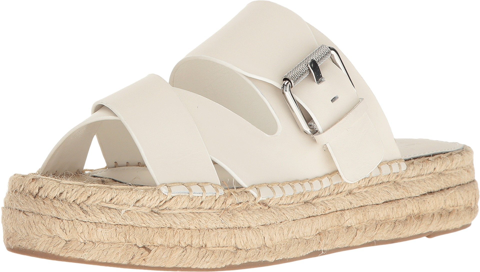 Marc Fisher LTD Women's Venita Chic Cream Fine Stetson Sandal
