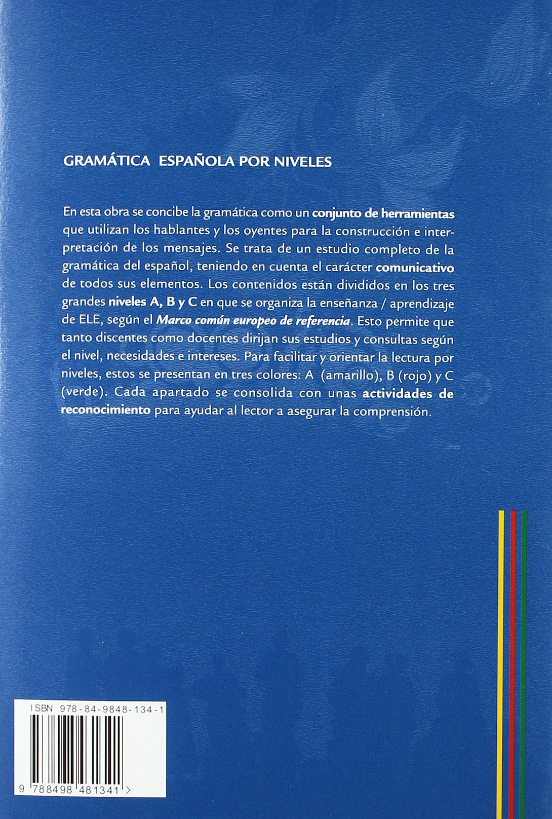 Gramatica espanola por niveles / Spanish Grammar by Level ...