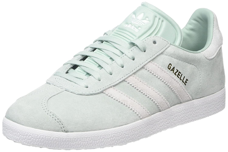 Adidas Gazelle W, Zapatillas de Deporte para Mujer 39 1/3 EU Verde (Vercen/Ftwbla/Tinazu 000)