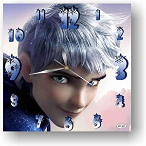 ART TIME PRODUCTION Rise of The Guardians-Jack Frost 11'' Handmade Wall Clock - Get Unique décor for Home or Office – Best Gift Ideas for Kids, Friends, Parents and Your Soul Mates
