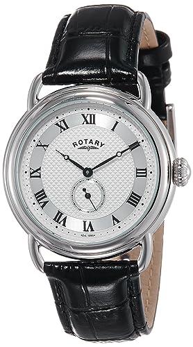 Rotary GS02424/21 - Reloj de Cuarzo para Hombre con Correa de Piel: Rotary: Amazon.es: Relojes