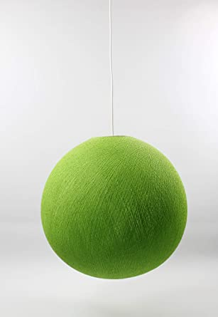 Cotton Ball Lampe CmCotonVert Suspension 31 ClairAmazon Lights LqSA3c54Rj