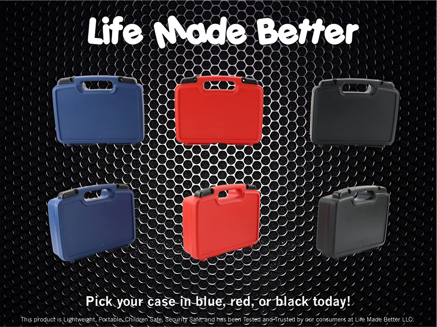 Life Made Better Storage Organizer - Compatible with Tascam DR-05, DR-40, DR-22L, DR-100MKll, DR-44WL Portable Recorder And Accessories- Durable Carrying Case - Red LMB356