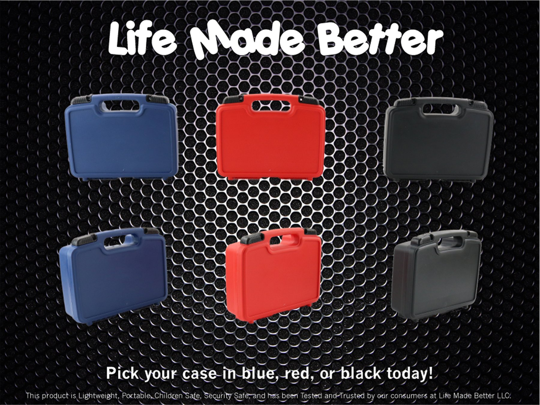 Life Made Better Storage Organizer - Compatible with Midland 75-822 40 Channel CB-Way Radio And Accessories- Durable Carrying Case - Blue by Life Made Better (Image #3)