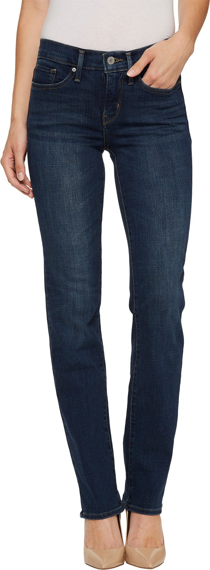 Levi's Women's 314 Shaping Straight Jean,Heart of Glass,33 x 32