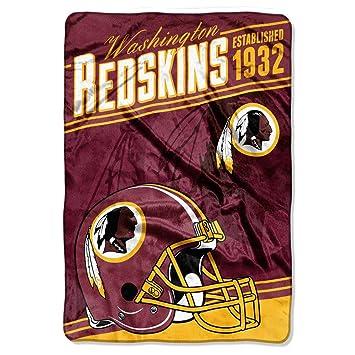 Amazon JA 40 X 40 Inches NFL Redskins Throw Blanket Football Beauteous Redskins Throw Blanket