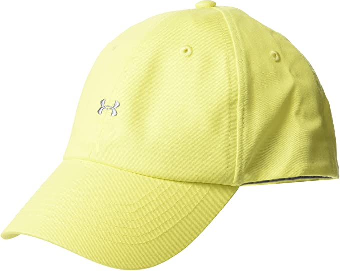 Under Armour Favorite Logo Cap Gorra, Mujer, Amarillo (159), One ...