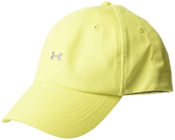 Under Armour Favorite Logo Cap Gorra, Mujer, Amarillo (159), One Size: Amazon.es: Deportes y aire libre